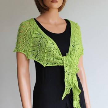 Paona - Kit châle tricot