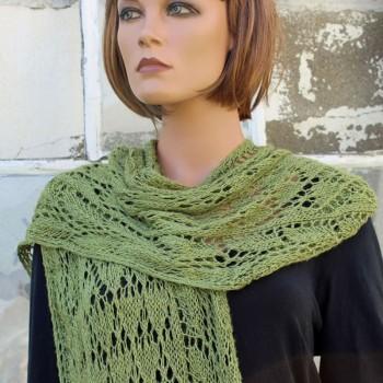 Plume - kit écharpe en soie