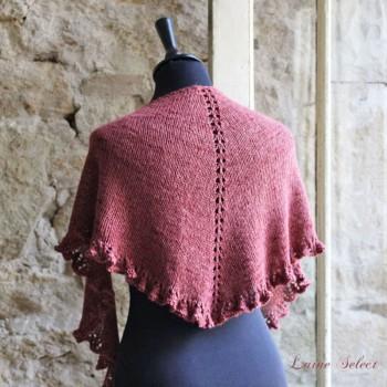 Prima Volta - châle tricot